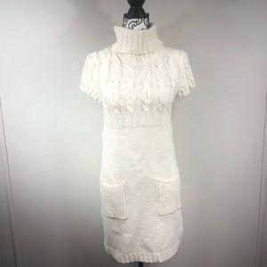 Rue21 Turtleneck Short Sleeve Sweater Dress Sz M